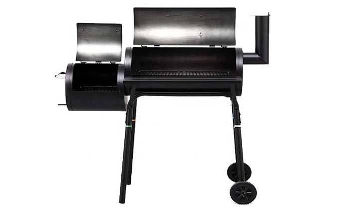 3 מעשנת בשר משולבת גריל Elkol