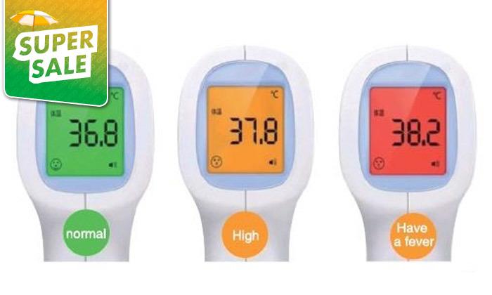 3 מד חום אינפרא אדום ללא מגע,דגם NY-5432