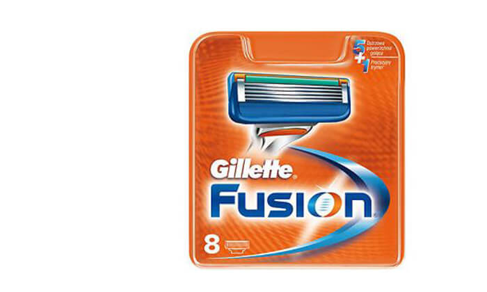 3 מארז 8 סכיני ג'ילט Gillette Fusion