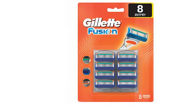 2 מארז 8 סכיני ג'ילט Gillette Fusion
