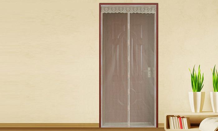 3 רשת נגד יתושים לדלת