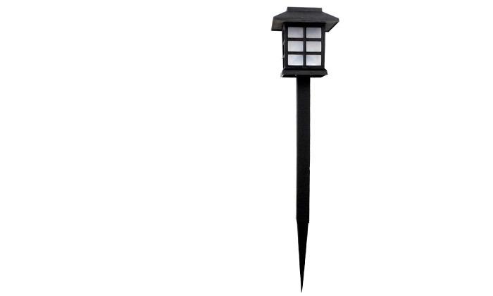 3 מנורות תאורה סולארית לגינה ולמרפסת