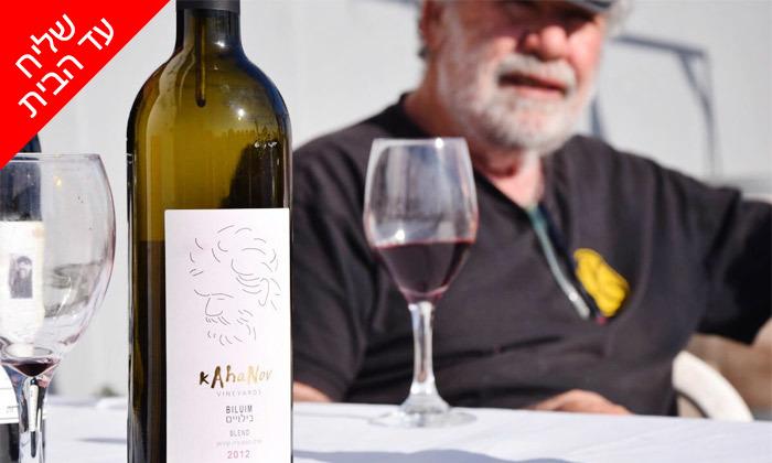 9 מארז יינות במשלוח חינם מיקב כהנוב, גדרה