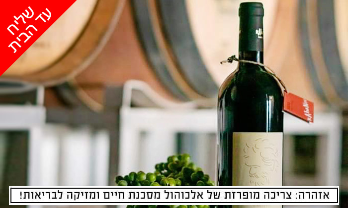 2 מארז יינות במשלוח חינם מיקב כהנוב, גדרה