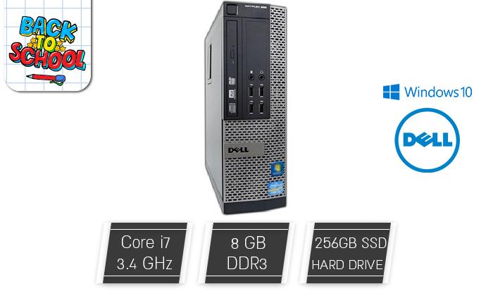 2 מחשב נייח HP/DELL עם מעבד i7