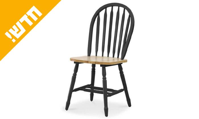3 שמרת הזורע: פינת אוכל עגולה עם 4 כיסאות