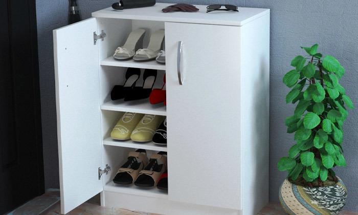 4 ארון כניסה לאחסון נעליים
