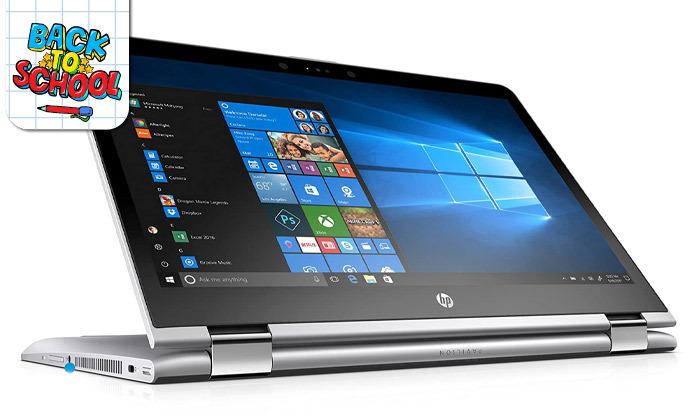 3 מחשב נייד HP עם מסך מגע מתהפך 14 אינץ'