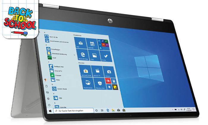 4 מחשב נייד HP עם מסך מגע מתהפך 14 אינץ'