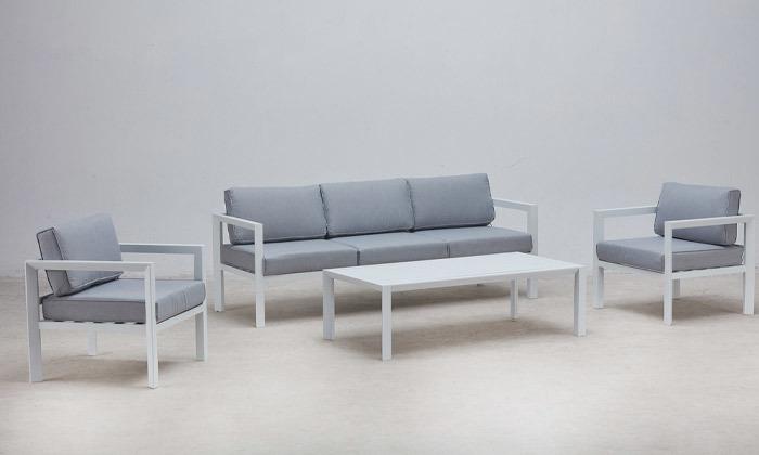 4 מערכת ישיבה עשויה אלומיניום CHICAGO