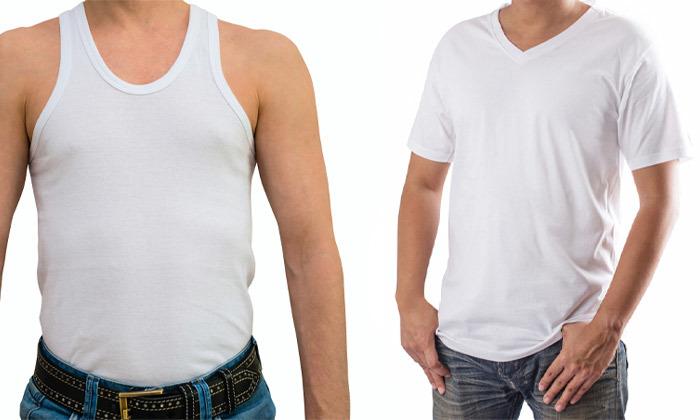 6 רביעיית חולצות ט-שירט לגברים Delta