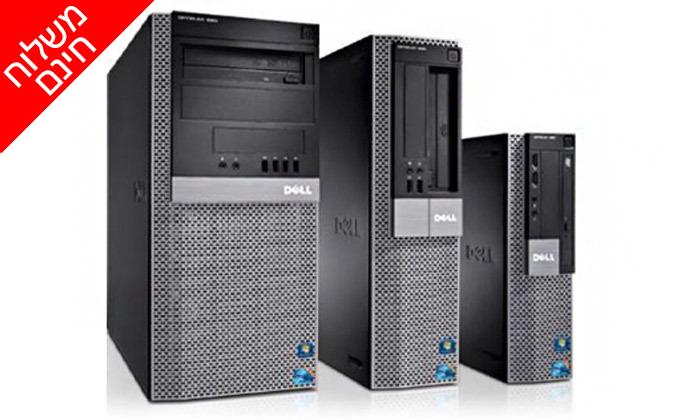 3 מחשב נייח מחודש DELL דגם 980 מסדרת OptiPlex עם זיכרון 8GB ומעבד i3 - משלוח חינם