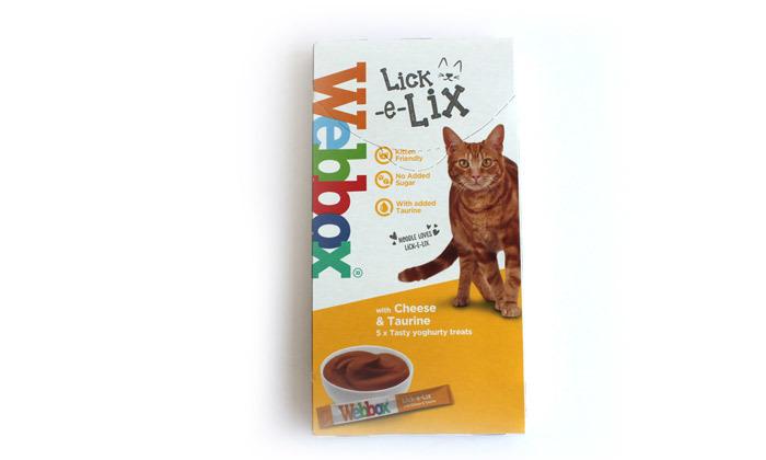 3 מארז לקקנים לחתולים WEBBOX