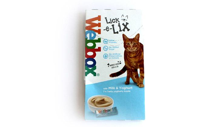 7 מארז לקקנים לחתולים WEBBOX