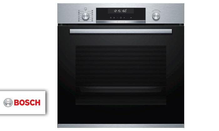 2 תנור בנוי פירוליטי 71 ליטר בוש BOSCH, דגם HBA574BR00