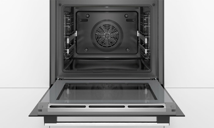 3 תנור בנוי פירוליטי 71 ליטר בוש BOSCH, דגם HBA574BR00