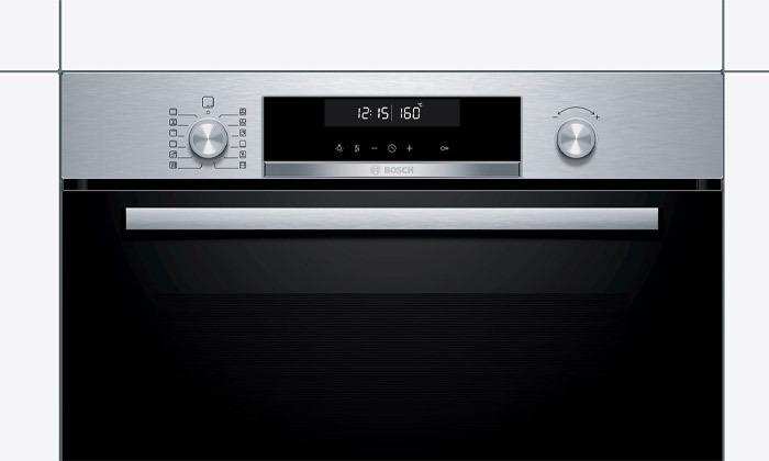 4 תנור בנוי פירוליטי 71 ליטר בוש BOSCH, דגם HBA574BR00