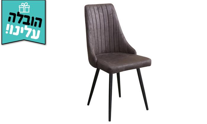 4 זוג כיסאות לפינת אוכל HOME DECOR - משלוח חינם