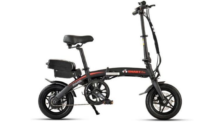 2 אופניים חשמליים מתקפלים Smart Bike דגם NANO