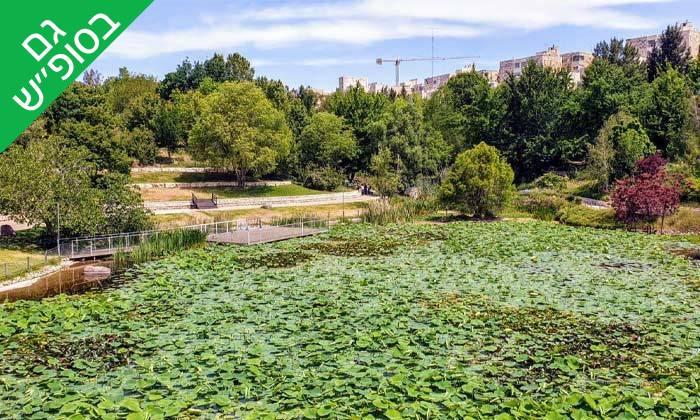 3 הגן הבוטני האוניברסיטאי בירושלים - שובר כניסה
