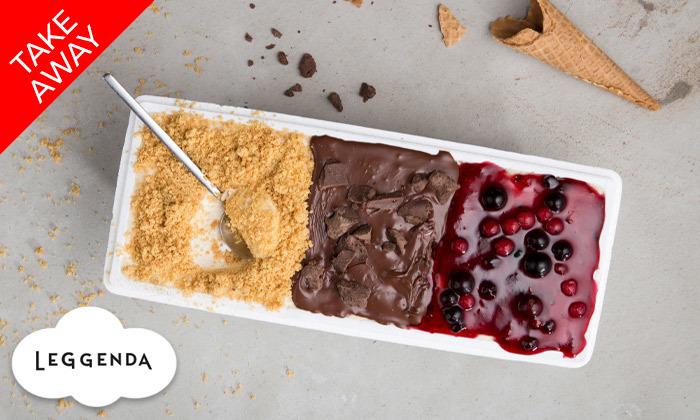 2 קילו גלידה לבחירה ב-Take Away מרשת לג'נדה