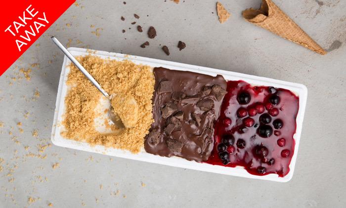 6 קילו גלידה לבחירה ב-Take Away מרשת לג'נדה
