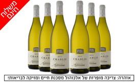 6 בקבוקי יין שאבלי משר המשקאות