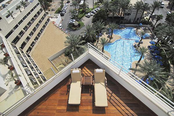 """9 חופשת קיץ משפחתית באילת במלון קיסר, כולל סופ""""ש"""