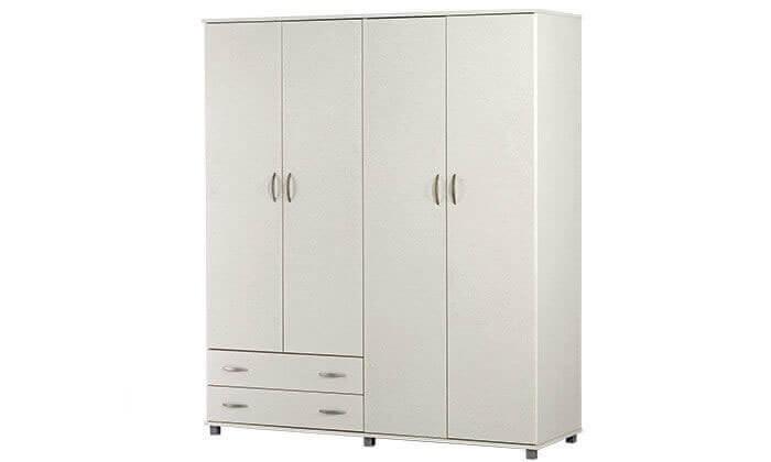 2 רהיטי יראון: ארון בגדים 4 דלתות