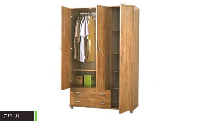 4 רהיטי יראון: ארון בגדים3 דלתות