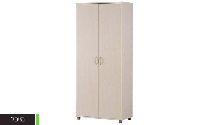 3 רהיטי יראון: ארון אחסון 2 דלתות