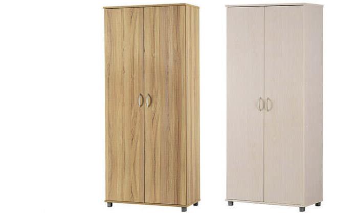 2 רהיטי יראון: ארון אחסון 2 דלתות