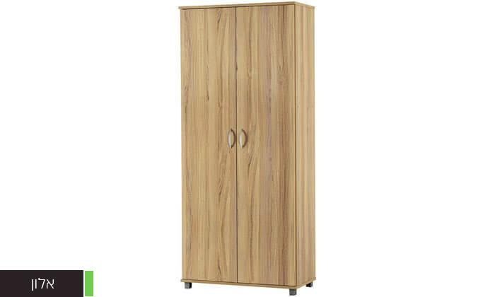 4 רהיטי יראון: ארון אחסון 2 דלתות