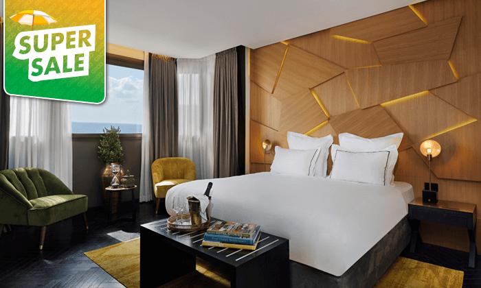 5 לילה במלון הבוטיק לייטהאוס LIGHTHOUSEHOTEL תל אביב