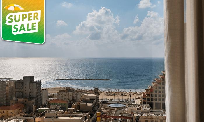 10 לילה במלון הבוטיק לייטהאוס LIGHTHOUSEHOTEL תל אביב