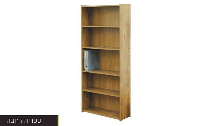 3 רהיטי יראון: ספריית מדפים