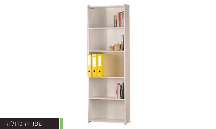 4 רהיטי יראון: ספריית מדפים