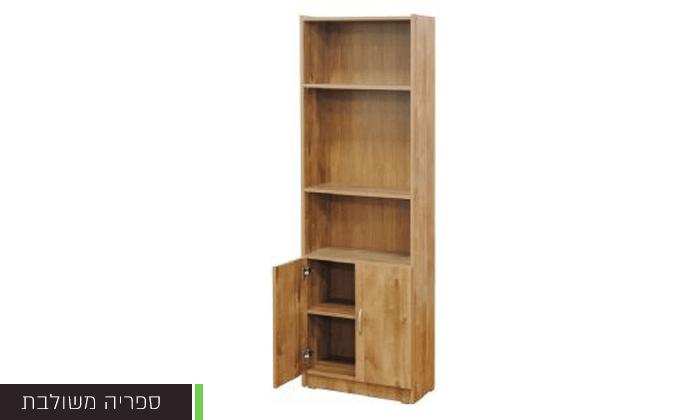 5 רהיטי יראון: ספריית מדפים