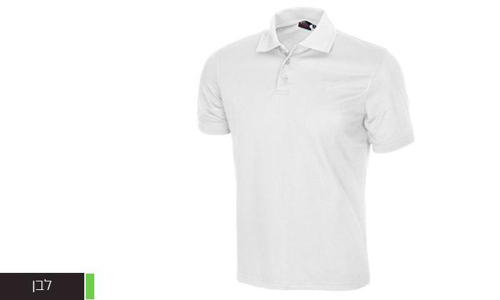 3 חולצת פולו לגברים OUTDOOR דגם POLO COOLDRY