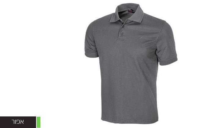 4 חולצת פולו לגברים OUTDOOR דגם POLO COOLDRY