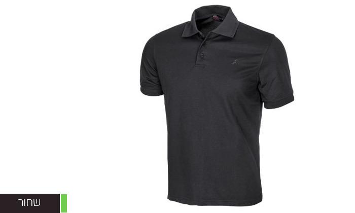 5 חולצת פולו לגברים OUTDOOR דגם POLO COOLDRY
