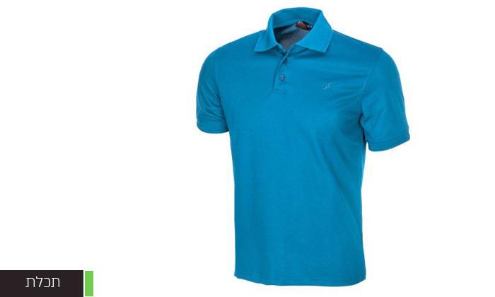 6 חולצת פולו לגברים OUTDOOR דגם POLO COOLDRY