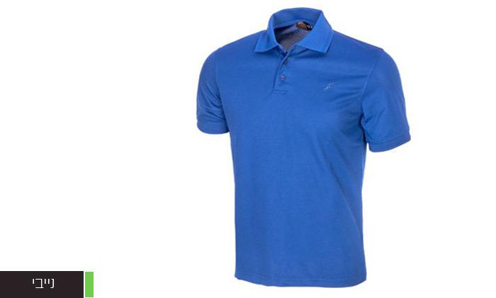 7 חולצת פולו לגברים OUTDOOR דגם POLO COOLDRY
