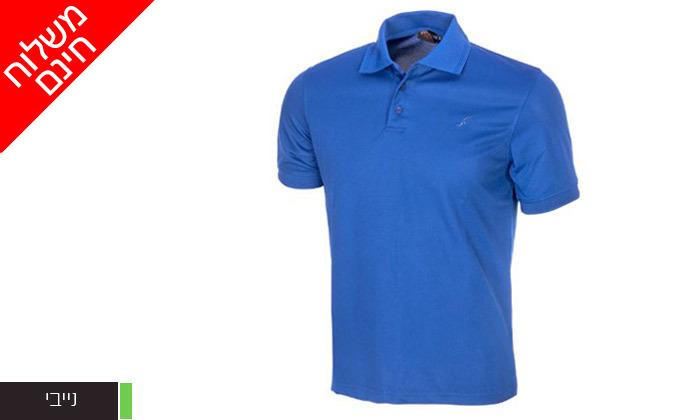 7 חולצת פולו לגברים OUTDOOR דגם POLO COOLDRY - משלוח חינם