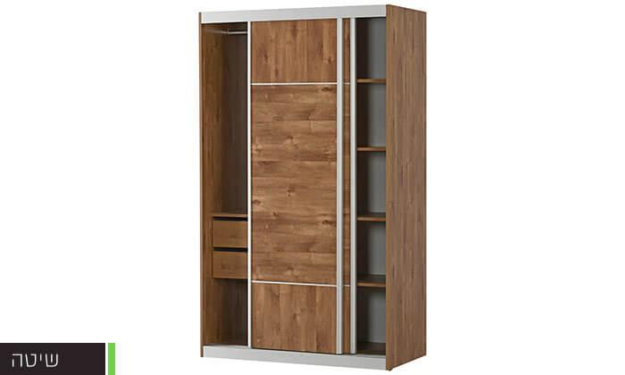 3 רהיטי יראון: ארון 2 דלתות הזזה