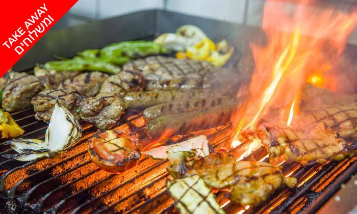 3 ארוחת בשרים לרביעייה ב-Take Away ממסעדת וילה מארה VILLA MARE, בת ים