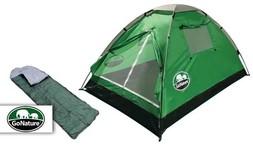 אוהל זוגי ושק שינה GoNature
