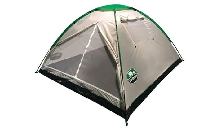 5 אוהל ל-4 אנשים וזוג שקי שינה GoNature