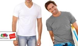 6 חולצות 100% כותנה לגברים