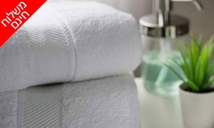 3 מארז 3 מגבות אמבט - משלוח חינם